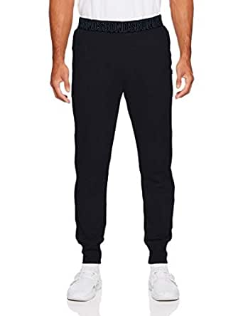 Bonds Men's Essentials Logo Skinny Trackie, Black, X-Small