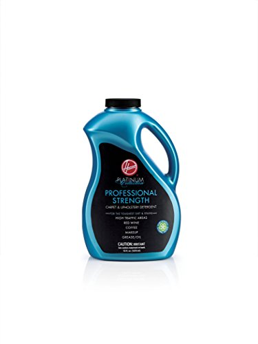 (Hoover AH30525 Carpet Cleaner and Upholstery Detergent Solution, Platinum Collection Professional Strength Formula, 50 oz)