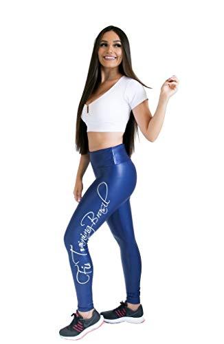 Calça Legging - Forever - Azul Marinho - M