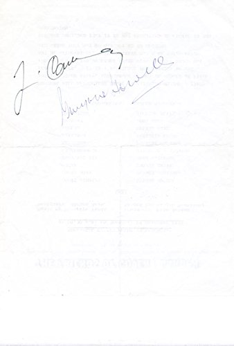 Gwynne Howell - Document Signed 12/19/1978 co-signed by Jose - Co Carrera