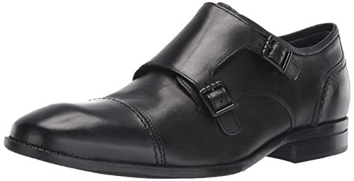 Cole Haan Men's Wagner Grand Monk-Strap Loafer Black 7.5 M US