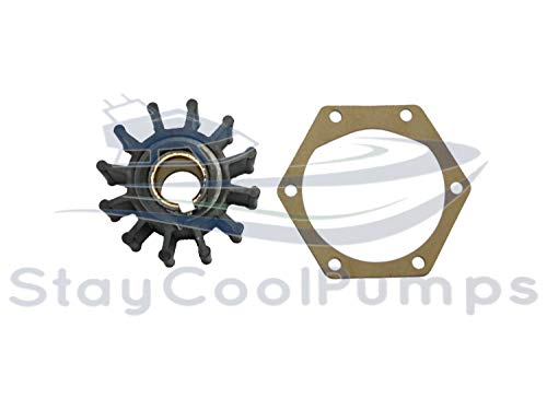 StayCoolPumps Impeller and 6-Hole Gasket Only Volv