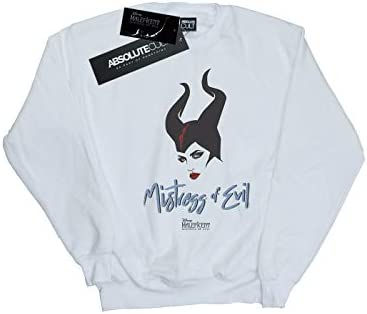 Disney Herren Maleficent Mistress of Evil Sweatshirt Weiß XXXX-Large