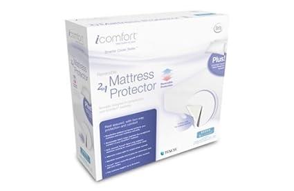 Serta iComfort® Reversible 2-in-1 Protector de colchón con almohada pantalla