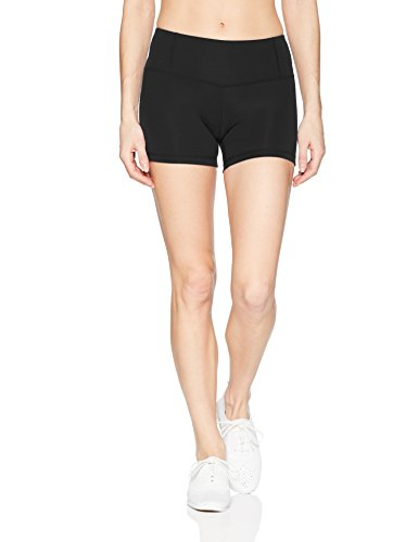 Shorty Body Glove - Body Glove Active Women's GET Shorty Performance FIT Activewear Short, Black, Medium