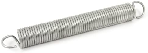 Forney 72597 Wire Spring Extension (10-339), 1-1/4-Inch-by-10-Inch-by-.148-Inch,Silver,Large