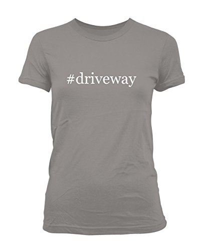 driveway-hashtag-ladies-juniors-cut-t-shirt-grey-medium