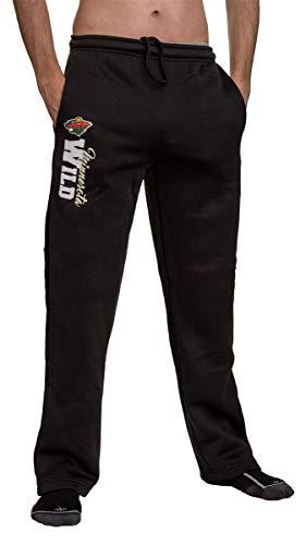 Minnesota Sweatpants - Calhoun Sportswear NHL Men's Sweatpants (Minnesota Wild, Small)