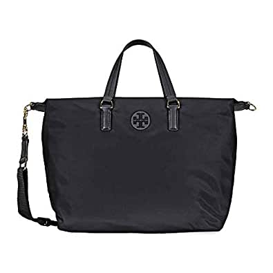 afdd46fcee5 Image Unavailable. Image not available for. Color  Tory Burch Tilda Medium Slouchy  Nylon Satchel ...