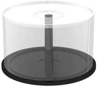 KGC _ DOO® Discos Memorie Box Cake 50 Campana vacía Porta CD DVD Bluray: Amazon.es: Electrónica