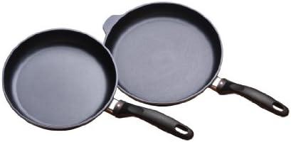 Swiss Diamond 2 Piece Set Fry Pan Duo – 9.5 and 11