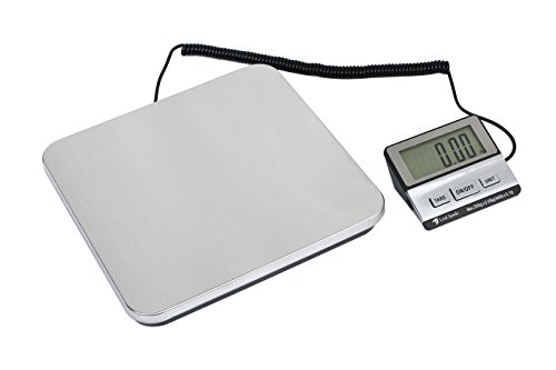Leaf spade 440 lbs Digital Shipping Postal Scale with Durable Stainless Steel (440lb)
