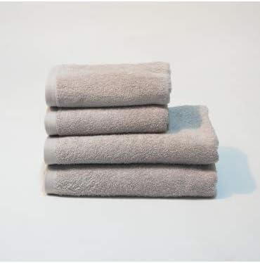 10XDIEZ Toalla algodón 550 gr/m2 Perla - Medidas Toallas - 70cm x ...