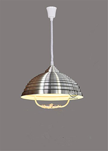 400 Chess (Industrial Pendant Light Lifting telescopic chandelier single head chess, telescopic length 1700mm diameter 400mm)