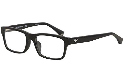 Emporio Armani EA 3050F Men's Eyeglasses Black 55