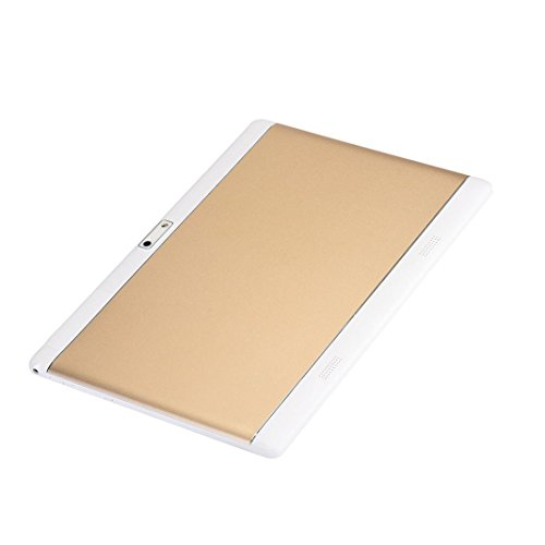 Gotd 10.1 inch HD Dual SIM Camera 3G Quad Core Tablet PC Android 6.0 16GB Bluetooth, Gold by Goodtrade8