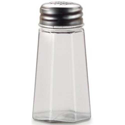 Dripcut Salt (Traex Dripcut Paneled Flat Top Salt and Pepper Shaker, 2 Ounce -- 72 per case.)