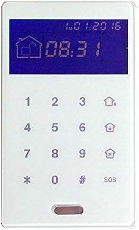 proxe 551035 Teclado inalámbrico para Central Alarma