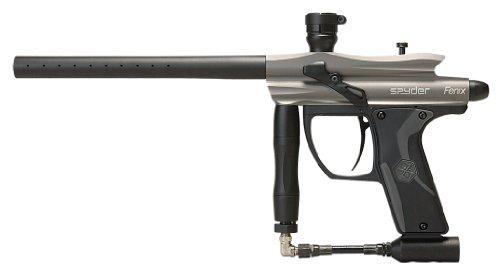 Semi Auto Air Pistol Silver (Spyder Fenix Electronic Paintball Marker (Silver/Grey))