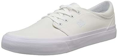 DC Shoestrase TX M Shoe - Zapatillas Hombre, Color Blanco, Talla 40