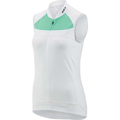 Louis Garneau Beeze 2 Sleeveless Jersey - Women's White/Mojito, L Garneau Sleeveless Jersey