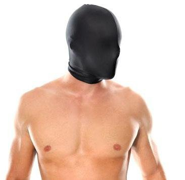 Punisher obedient Spandex Mask Hood . Kinky BDSM Fantasy Fetish Sex Toy game Unisex . YOUR Submissive is Under YOUR Control ! Inspired by 50 Shades of Grey . Made in US by Skeleton Key . Shipped from US by Skeleton Key (Amazon Registered Brand) , USA