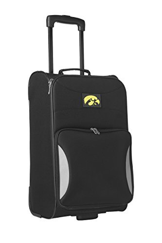 Denco Sports Luggage NCAA University of Iowa 21'' Black Steadfast Upright by Denco Sports Luggage by Denco Sports Luggage