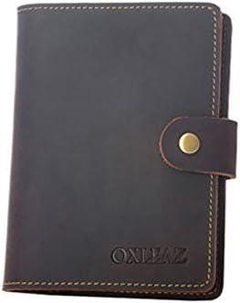 bb1c38618526 Travel Leather Passport Holder Retro Card Cases Purse Luxury Slim ...