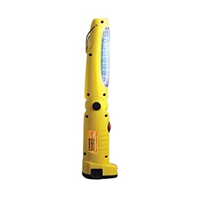 Gyros 58-23672 MAGNALite Pro 36 LED Rechargeable Work Light/ Lamp, Best Cordless Flashlight; Pivoting Head and Hanging Hook; Lithium Battery-Operated, Bright Yellow Body with Magnetic Base