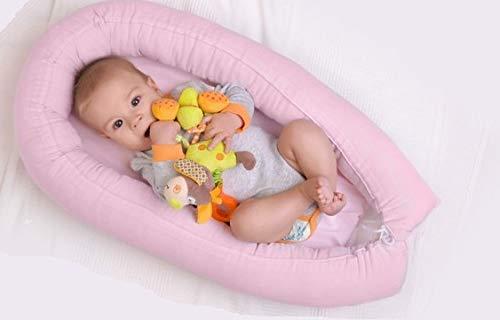 multifuncional para beb/és y beb/és cuna de viaje antial/érgico Nido para beb/é UE 100/% algod/ón