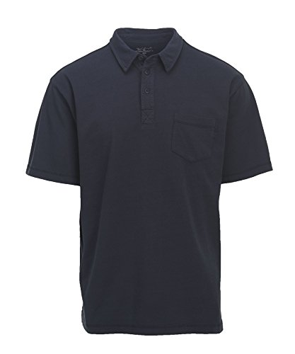 Woolrich Mens Polo Shirt (Woolrich Men's First Forks Polo, Deep Indigo, X-large)