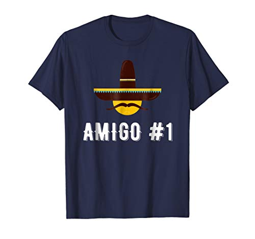 Amigo #1 Funny Group Halloween Costume Idea T-shirt]()