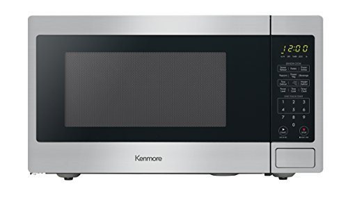Kenmore 71313 Countertop Microwave, 1.3 cu ft, Stainless Steel