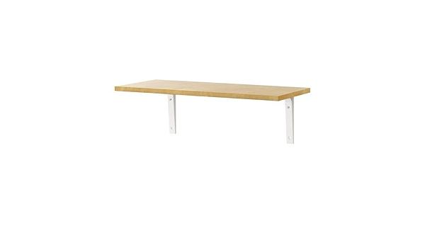 Ikea EKBY LAIVA/EKBY STODIS – Estantería de Pared, el Efecto ...