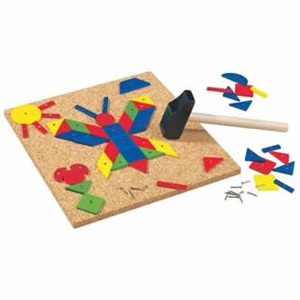 Haba Geo Shape Tack Zap Play Set