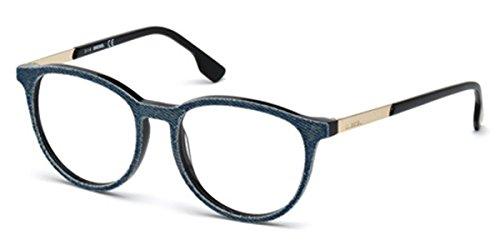 3bda0d3c049de8 Amazon.com  Diesel Rx Eyeglasses Frames DL5117-F 002 52-17-150 Light ...