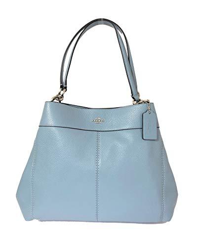 Coach Pebbled Leather Lexy Shoulder Bag Handbag - Pebbled Coach
