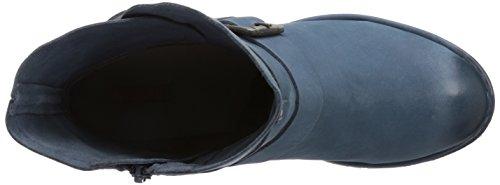 Bugatti J4926PR5G - botas de cuero mujer azul - Blau (blau  400)