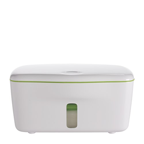 OXO Tot PerfectPull Wipes Dispenser with Weighted Plate- Green