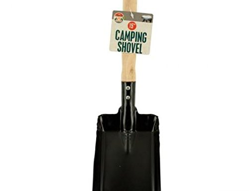 K&A Company Shovel Wood Handle Camping Case of 36 by K&A Company