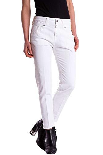 Leia Pot Boyfriend Jeans snow Bianco white Donna Meltin' awqT56q