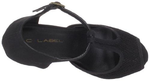 C Label Women's Suden-5 Sandal Black YIqQDh