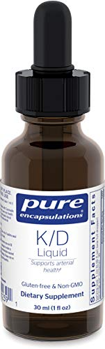 Pure Encapsulations – K/D Liquid – Powerful Support for Arterial Health and Cardiovascular Function* – 30 ml. For Sale