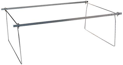 Smead Steel Hanging File Folder Frames, Legal Size, Steel, 2 per Pack (64873) (Filing Cabinet Frame)