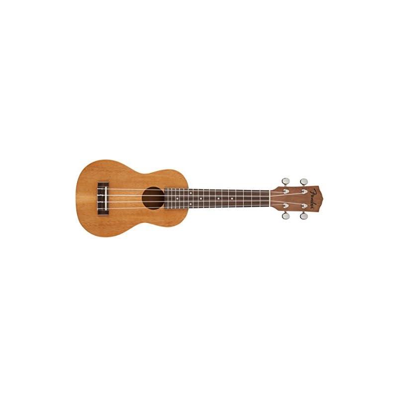 """Fender Soprano Ukulele""""Piha'eu"""" - Mahogany"""