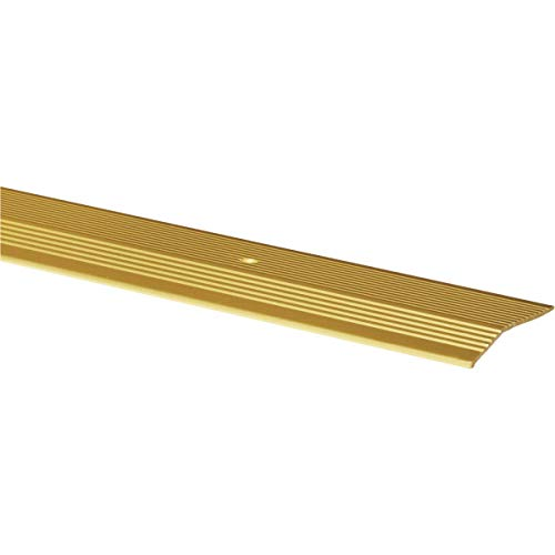 M-D Building Products 79251 Extra Wide Fluted 2-Inch by 72-Inch Carpet Trim, Satin ()