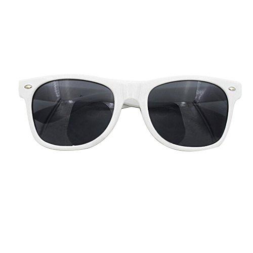 Sanwood Homme Lunettes Blanc de Noir noir unique soleil Taille gwpgqrF
