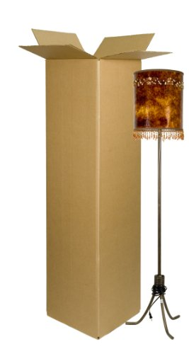 EcoBox Tall Lamp Box 12 x 12 x 48 Inches (E-566)