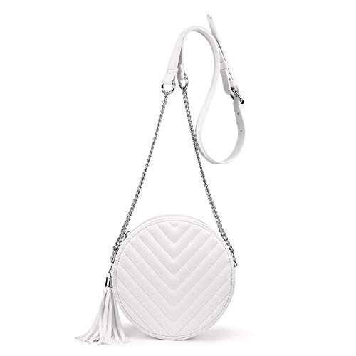 Crossbody Women Quilted Leather Tassel product image