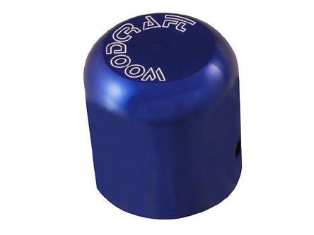 Blue Frame Slider (WOODCRAFT UNIVERSAL REPLACEMENT FRAME SLIDER PUCK - BLUE ALUMINUM)